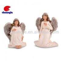 Custom resin angel wing, Polyresin angel wing craft