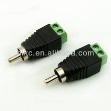 RCA male plug RCA connector RCA to screw terminal