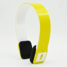 B-801BH UV yellow bluetooth headset for mobile phone &apple iphone&samsung