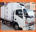 6 wheels JAC refrigerator truck for frozen food transportation