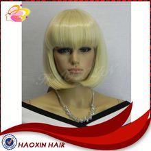 Alibaba China Fashionable Model Synthetic Hair Wigs