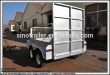 galvanised tandem trailer