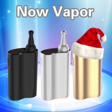Cool handheld dry herb Vaporizer Now Vapor 1800Mah rechargeable and fast heating e-shisha electronic cigarettes free trial