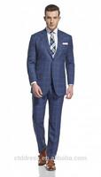 2014 new stylish 100% wool fabric mens suit