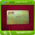 2014 de alta calidad de pvc holograma láser tarjeta de