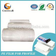 Milky white pe protective film tape