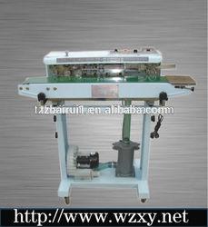 DBF-1000 continuous potato chip bag sealer