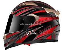 motorcycle full face double glasses DOT helmet