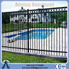 used home garden building durability house beautiful white galvanized wrought iron fence for sale