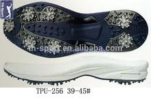 Customized design unique rubber sole comfortable golf shoe