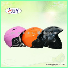 Perfect hot sale pink/blue cute skiing helmet GY-SH801