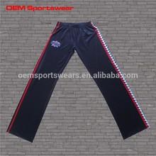 Wholesale custom made women 100% polyester sweat pants