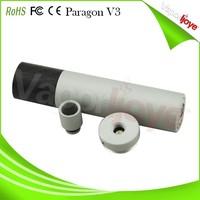 22 mm Anodized aluminium paragon v3 ecig mod matching one drip tip