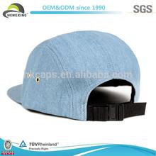 custom 5 panel hats wholesale/5 panel baseball cap/denim 5 panel hats