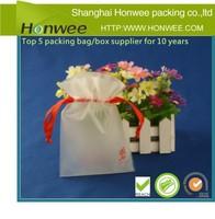 mini drawstring pvc packing bag