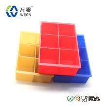 Customized creative 2014 new design silicone ice cube tray