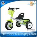 Nuevo modelo barato los niños bebé cochecito vehículo de tres ruedas con freno/andador triciclo h159063