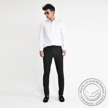 100 grams hot sale cotton/bamboo fiber women fancy collar shirt sewing chiffon abric