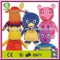 Hi CE caliente de la venta backyardigan de peluche de juguete, De dibujos animados backyardigan peluche de juguete de felpa