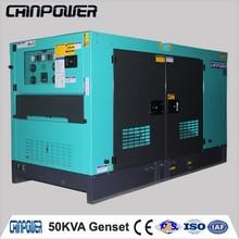 50kva low cost large genset remote control open diesel generator