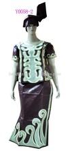 Y0058-2 fashion beautiful bazin clothes