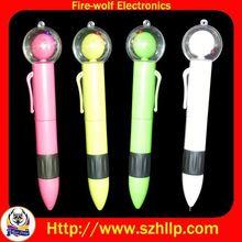 NiBong led light ballpoint pen led flashing pen manufacturer