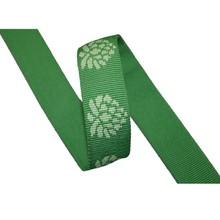 the latest designed head polyester webbing,green jacquard Nylon web,cotton straps