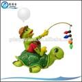 Rana si-005 pesca diseño flotante del tanque de peces adornos