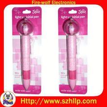 Yiwu light ball pen factory led projector pen wholesaler