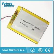 5v li ion polymer battery 1000mah battery for card reader