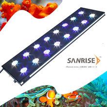 sanrise Wifi control 2ft 3ft DIY full spectrum deep blue aquarium lighting