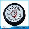 custom logo printing pu hockey puck