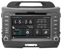 WITSON KIA SPORTAGE RADIO NAVIGITAON FRONT DVR CAMERA CAPACTIVE SCREEN OBD DISPLAY BACK VIEW