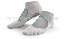 Backless Home Toe Five Finger Yoga Socks