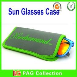 Neoprene eyeglasses case/ Soft sunglasses case/ Soft pouch eyeglasses case