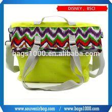 2015 New fasion Promotional canvas messenger bag