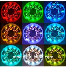 walmart christmas lights Emitting Color and CE RoHS LED strip light RGB 5050 SMD