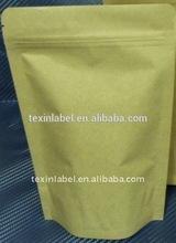 Self Adhesive Sea Sealing & Handle and Paper Material brown kraft paper bags