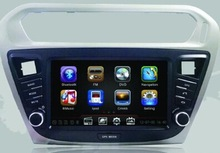 DH8017 One Din HD Touch Screen Car DVD GPS Radio for Peugeot 301