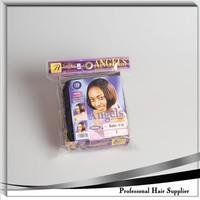 Kanekalon fiber hair weaves , ANGELS Short hair extension , Silk straight hair bang