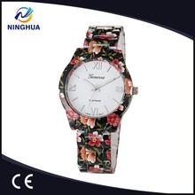 El más Popular de movimiento de cuarzo de la flor del todo tipo de reloj de pulsera