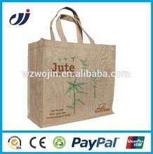 Food Grade!! Customized jute bag printing made-in-china/beautiful handbags/wholesale handbag
