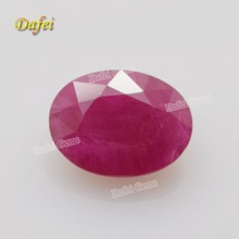 Fancy Oval Cut Natural Burma Ruby