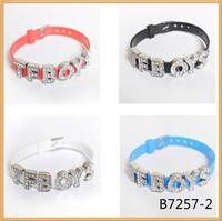 New arrival customized letter bracelet diy letter bracelet wholesale