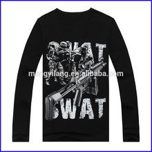 HOT sale high end fashion custom logo 3D design t-shirts