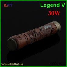Electronic Cigarette New Model Wood Mech E cig Mod Legend 5 Wholesale