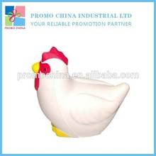 Custom Chicken PU Stress Toy Bulk Stress Balls For Promotional Gift