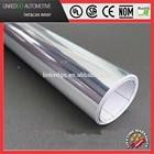 Car Vinyl Sticker Silver 1.52*30M Car Wrap Chrome Mirror Car Wrap Film with Air Bubble Free