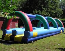 splash large SLIP inflatable water slip slide