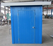 4ft*6ft waterproof flat pack garden sheds storage